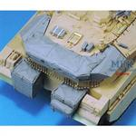 Merkava MK.IID Turre tHull Basket Set for Academy