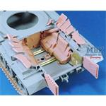 M48/M60 Engine Deck Louvers set