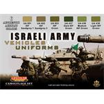 Israeli Army Vehicles and Uniforms Farbset 6x 22ml