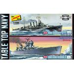 HMS King George V & HMS Dorsetshire Tabletop Navy