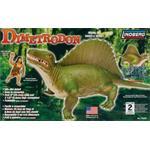 Dimetrodon Dinosaurier + Höhlenmensch / Caveman