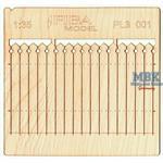 Holzzaun / Wooden fence Type 1    1/35