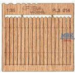 Holzzaun / Wooden fence Type 14   1/35