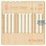 Holzzaun / Wooden fence Type 20   1/35