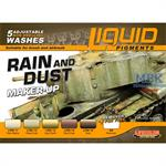 Weathering Set   Rain and Dust Maker up   6x22ml