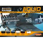 Weathering Set  Wings and Fuselage   6x22ml