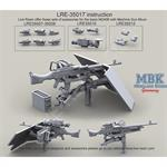 M240B Military System Group Inc. H24-6 MG Mount