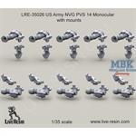 US Army NVG PVS Monocular w/ mount