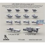 US Army Scope Set 3