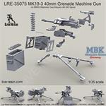 MK19-3 40mm Grenade Machine Gun w/ M3 tripod