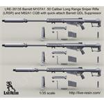 Barrett M107A1 .50 Cal w/ Barrett QDL Suppressor