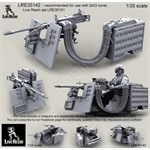 M3D/Dragon M-50 .50 Caliber MG for SAG turret