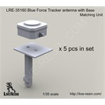Blue Force Tracker antenna w/ base