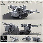 CH47 Chinook Back Ramp Weapon Mount with M240D