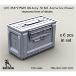 WWII US Army .50 M2 Ammo Box, closed