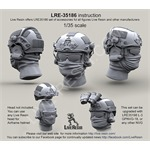 Airframe helmet without helmet cover with headsets
