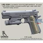 Colt M45A1 included surefire light