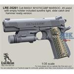 Colt M45A1 included surefire light