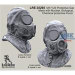 M17 US Protective GasMask Nuclear,Chemical, Bio.