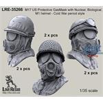 M17 US Protective GasMask ABC with M1 Helmet