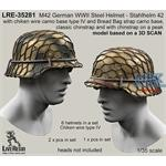 M42 Helmet , classic chinstrap + wire type IV