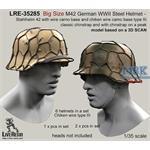 Big Size M42 Helmet wire camo base type III