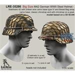 Big Size M42 Helmet wire camo base type IV
