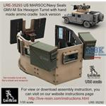 US MARSOC/Navy Seals GMV-M Six Grain Turret