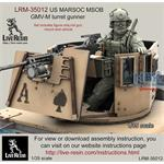 US MARSOC / Navy Seals GMV-M turret gunner