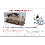 German sIG33/2 Jagdpanzer 38(t) Conversion set