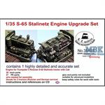 S-65 Stalinetz Tractor Engine Upgrade Set