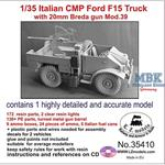 Italian CMP Ford F15 truck with 20mm Breda gun