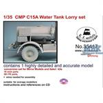 15cwt trucks water truck conversion set