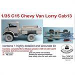 C15 Chevy, Cab 13 w/ 2x4 drive