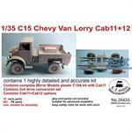 C15 Chevy, Cab 11 w/ 2x4 drive
