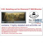Detailset US Diamond T 969A wrecker