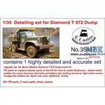 Detailing set for Diamond T972 Dump Truck