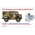 Detailing set for Morris Mk III No. 5