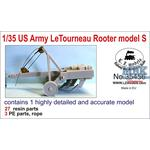 US Army LeTourneau Rooter Model S