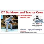 US Army D7 Tractor + Bulldozer Mechanic II