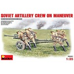 Soviet Artillery Crew on Maneuver
