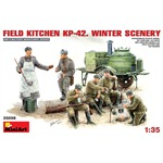 Soviet Field Kitchen PK-42 Winter Scenery