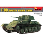 Soviet  light tank T-80 - SPECIAL EDITION