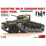 Valentine Mk.VI - Canadian-built, early production