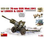 USV-BR 76-mm GUN Mod.1941 w/ Limber & Crew