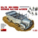 Kfz.70 MB 1500A GERMAN 4x4 CAR w/CREW