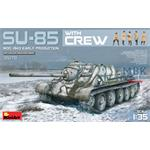 SU-85 Mod. 1943 w/CREW  (Early Production)