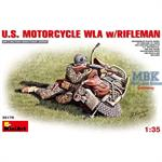 US motorcycle WLA with rifleman
