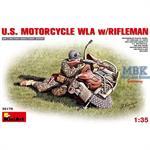 US motorcycle WLA with rifleman