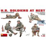 U.S. Soldiers at Rest